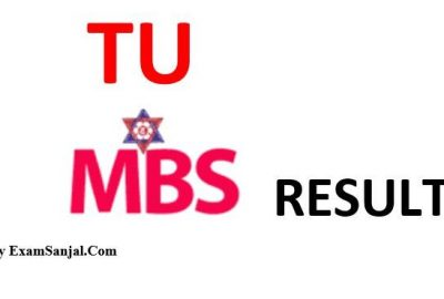 TU publishes MBS 2nd year result 2075