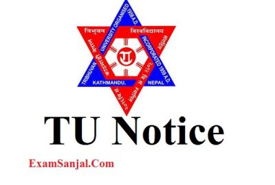 TU Exam Application Form Fill up 1st 2nd 3rd 4th Year B.Sc B.Tech