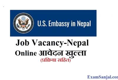 U.S. Embassy Job Vacancy in Nepal Apply US Embassy Job Online