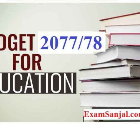 Budget Highlights 2077/78 and Announcement in Education Sector