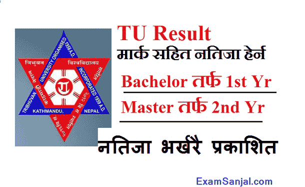 TU result published Bachelor & Master Level Result TU