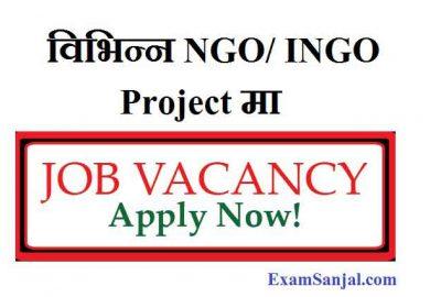 Project Job Vacancy Plan Intl & Habitat for Humanity