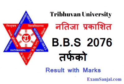 TU Results Published BBS Management Faculty 2076