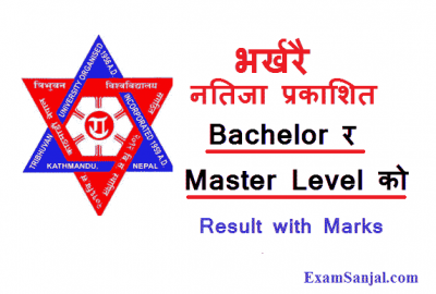 TU Result Published Bachelor & Master second year