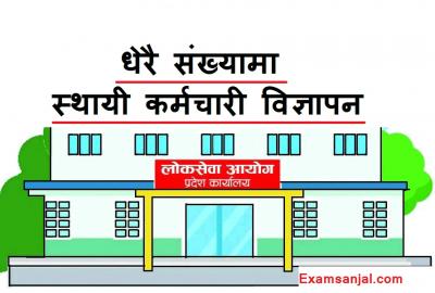 Pradesh 2 Lok Sewa Aayog Vacancy Notice Province Lok Sewa Vacancy