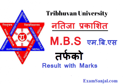 TU Exam Results Published M.B.S second Year Results TU