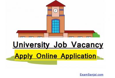 MidWestern University Job Vacancy Notice MadhyaPaschim University