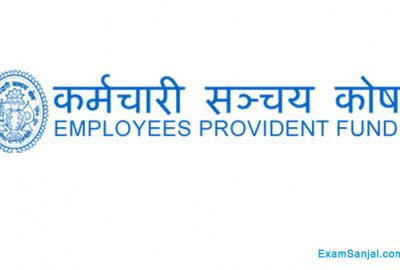 Employees Provident Fund EPF Service Hire Notice Sanchaya Kosh
