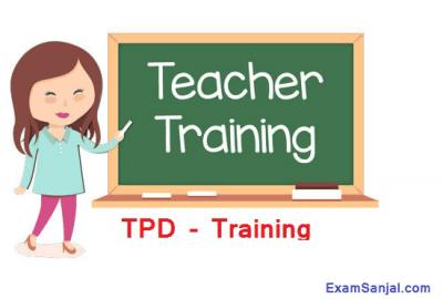 TPD Training Open For Teacher Professional Development Talim