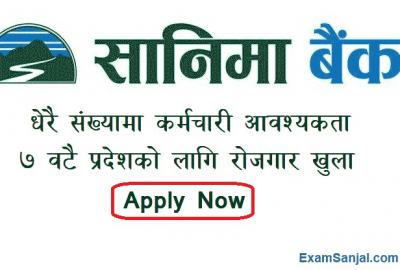 Sanima Bank Job Vacancy Notice Banking Career Job Nepal Apply Now