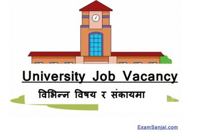 Madhya Paschimanchal University Teaching Lecturer Job Vacancy Notice