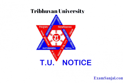 TU Exam Application Form Fill up Notice Regular Partial Exam