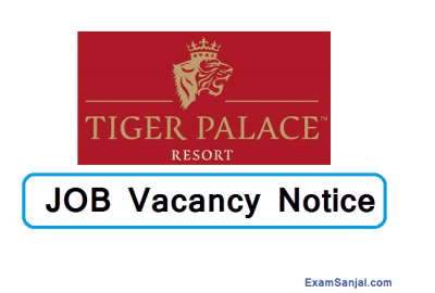 Tiger Palace Hotel SHL Management Service Job Vacancy