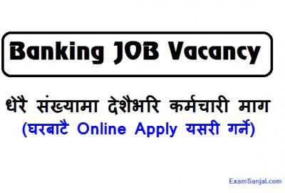 Banking Job Vacancy Notice at Mahalaxmi Bikash Bank