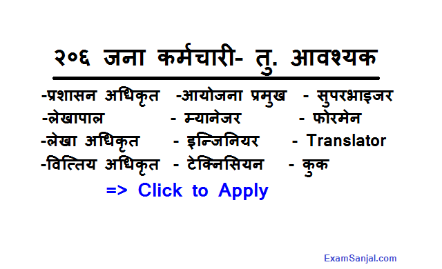 Hydropower Project Job Vacancy by Mananag Mashyarngdi & Rasuwa Jalvidyut
