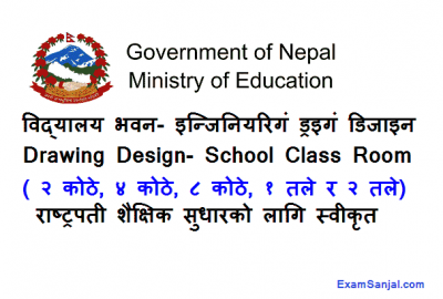 School Class Room Building Drawing Design Rashtrapati Shaikshik Sudhar