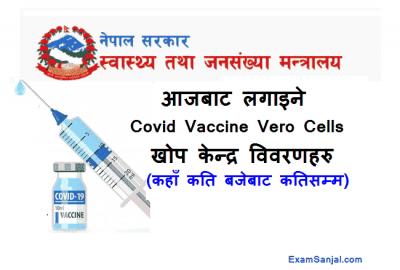 Vero Cells Vaccine Center in Nepal Covid 19 Vaccine Nepal