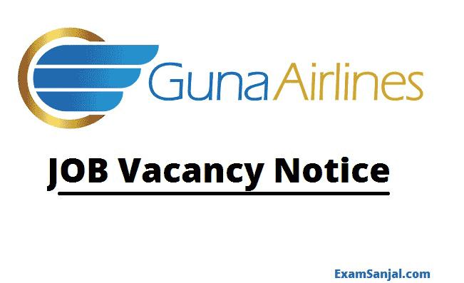 Guna Airlines Job Vacancy Notice Captain Beechcraft jobs