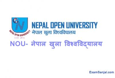 Nepal Open University Khulla Bishwobidyalaya NOU Job Vacancy