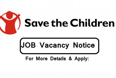 Save The Children INGO Project Job Vacancy Notice